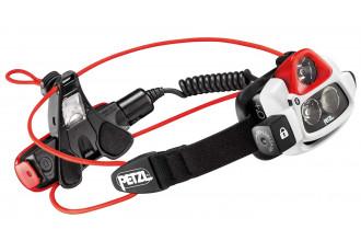 Petzl NAO + E36AHR2B Lampe frontale rouge rechargeable connectée bluetooth 750 lumens