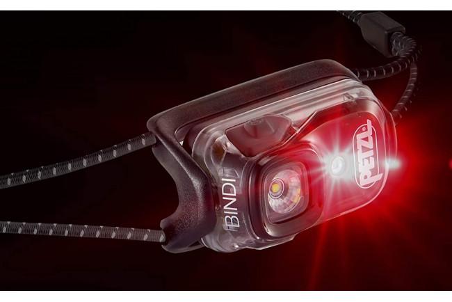 Petzl BINDI E102AA02 lampe frontale emeraude ultralégère utilisation au quotidien
