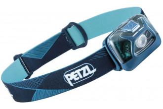 Petzl TIKKA E093FA01 lampe frontale hybride bleue compacte lumière rouge