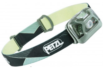 Petzl TIKKA E093FA02 lampe frontale hybride verte compacte lumière rouge