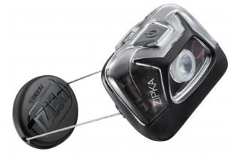 Petzl Zipka E093GA00 Lampe frontale avec enrouleur à fil auto-ajustable noir