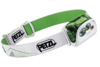Petzl ACTIK E099FA02 Lampe frontale verte puissante et légère pour activité outdoor