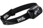 Petzl ACTIK CORE E099GA00 Lampe frontale noire rechargeable puissante à double faisceaux