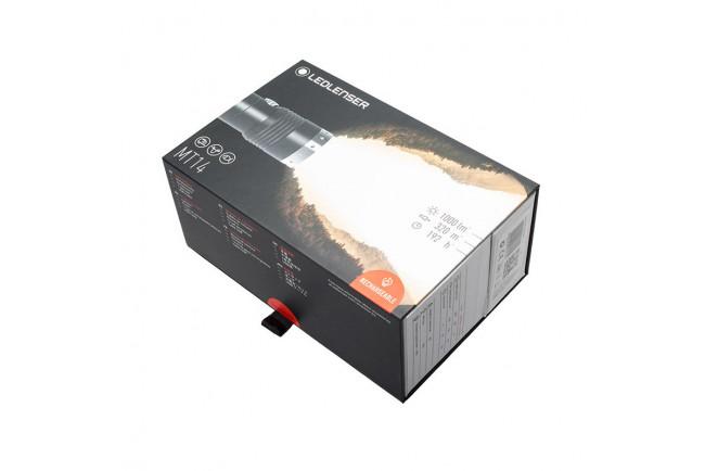Ledlenser MT 14 500844 lampe torche rechargeable spéciale longue distance