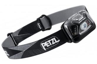 Petzl TIKKA E093FA00 lampe frontale hybride noire compacte lumière rouge