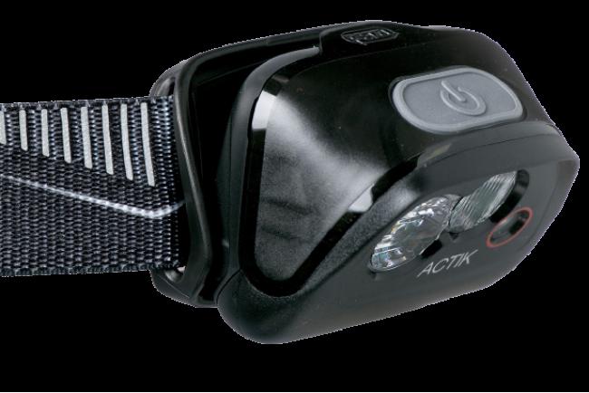 Petzl ACTIK E099FA01 Lampe frontale bleue puissante et légère pour activité outdoor