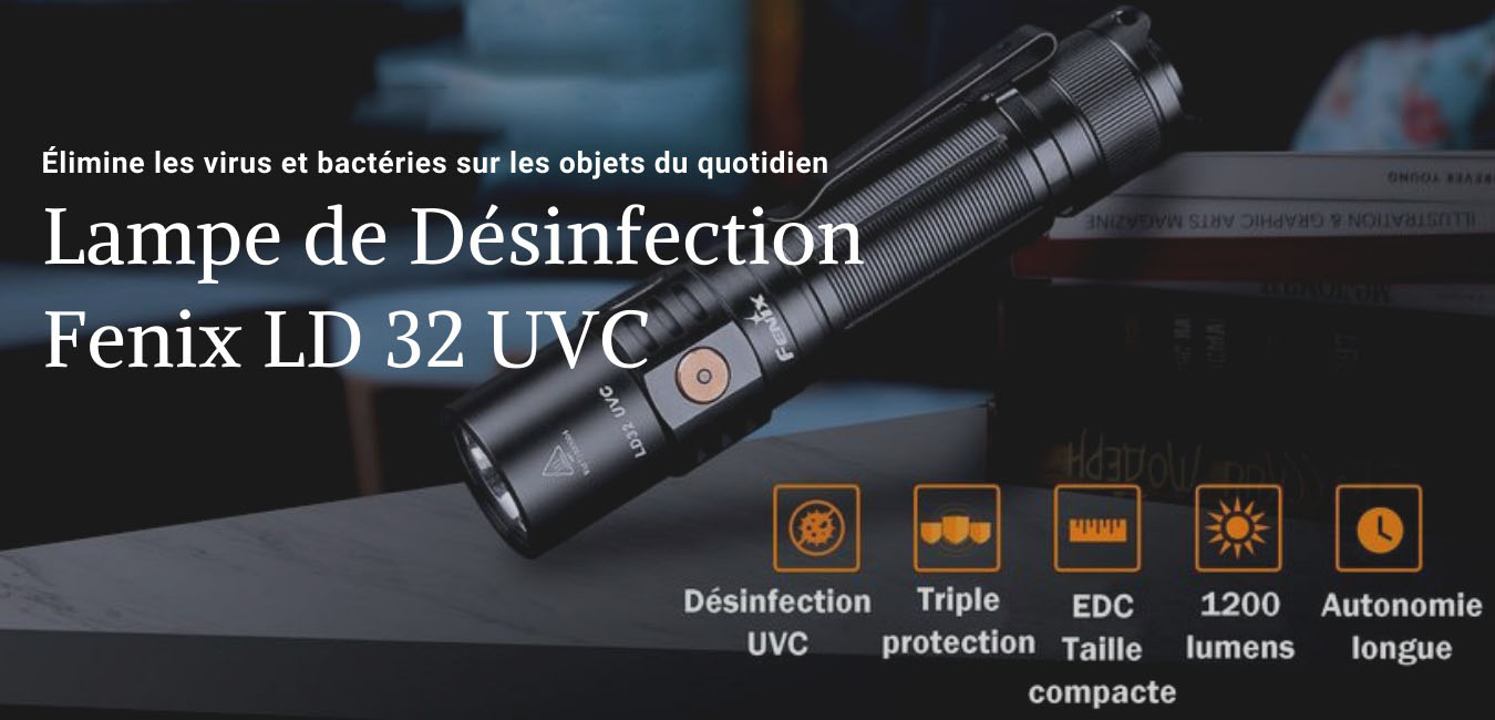 lampe Fenix LD32UVC