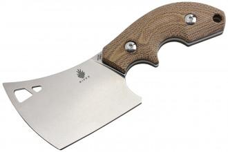 Kizer 1039C2 Butcher Lame acier 154CM manche micarta et G10 noir par Macho Blade