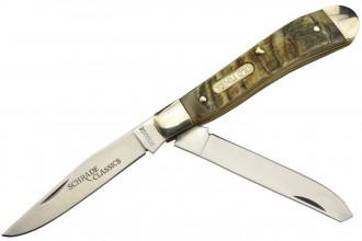 Schrade 127OT Old Timer couteau de poche pliant à deux lames