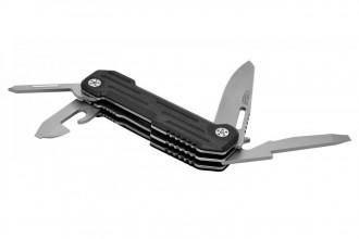 Camillus 19651 POCKER BLOCK lame acier 420 et manche G10 noir