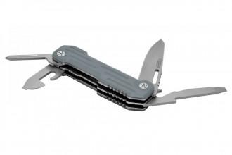 Camillus 19658 POCKER BLOCK lame acier 420 et manche G10 gris