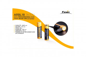 ARBL18-2600U - Batterie 3,6V 2600mAh