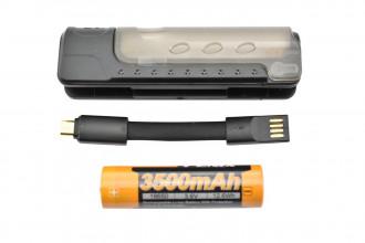 ARE-X11 - Set chargeur et batterie 18650