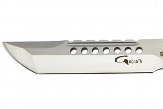 Golgoth G11D3 Rouge. Couteau automatique OTF double action