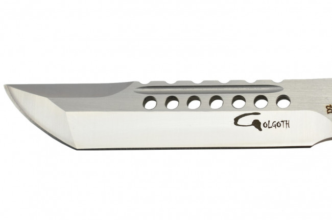 Golgoth G11D6 Silver. Couteau automatique OTF double action