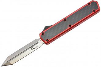 Golgoth G11E3 Rouge Couteau automatique OTF lame Glaive
