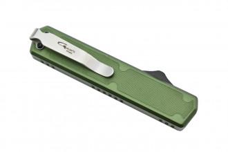 Golgoth G11F2 Vert. Couteau automatique OTF double action