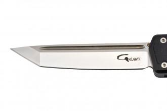 Golgoth G6 automatique OTF  lame acier D2 manche aluminium