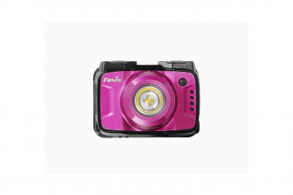 HL12R Rose - Frontale rechargeable - 400 lumens