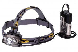 HP30R GRIS - Lampe frontale avec boitier externe - 1750 Lumens