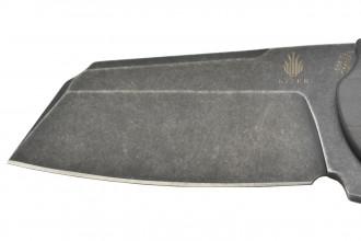 Kizer ki4488A3 C01C lame acier S35VN noir manche fibre de carbone par Sheepdog knives