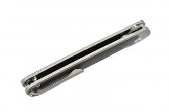 Kizer Ki4556A2 Clutch par Carlos Elstner lame acier S35VN manche titane et fibre de carbone
