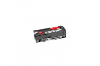 Swisstech MFTCSBKC - Lampe de poche LED multi-outils
