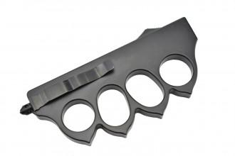 Maxknives MKO13B2 Couteau automatique poing américain 1918 lame acier manche zinc aluminium