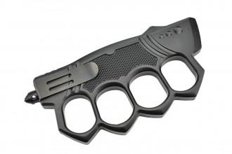 Maxknives MKO14B1 Couteau automatique poing américain lame acier manche zinc aluminium