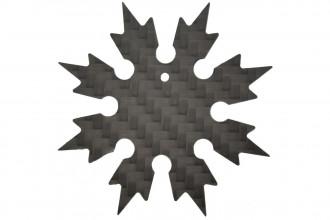 Maxknives Shuriken 8 branches en Fibre de carbone