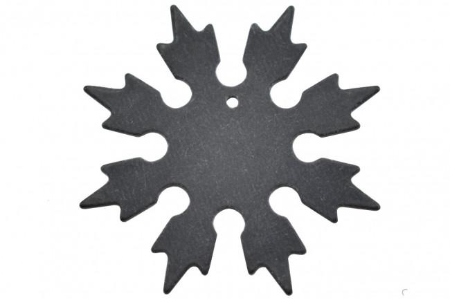 Maxknives Shuriken 8 branches en G10 Noir