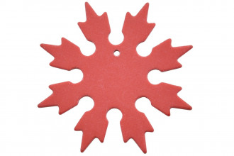 Maxknives Shuriken 8 branches en G10 Rouge