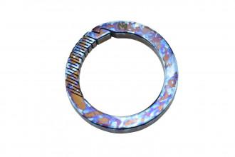 Maxknives MKTI1835 Anneau mousqueton Titane anodisé crazy traitement Diamètre 35mm