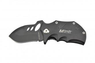 MTech MT-365BK - Couteau de poche Noir en acier 440