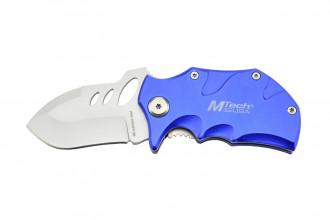 MTech MT-365BL - Couteau de poche Bleu en acier 440