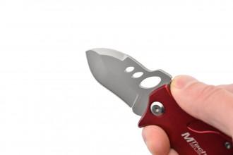 MTech MT-365RD - Couteau de poche Rouge en acier 440