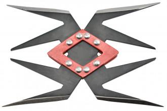 Maxknives NS140 Ninja Shuriken 4 branches acier 420 noir