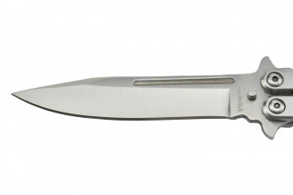 Max Knives P25PS -  FINITION SILVER - 180mm