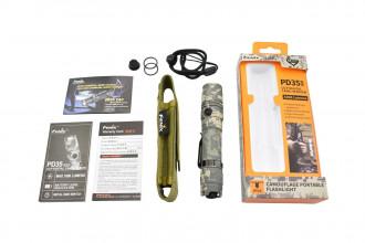 PD35 CAMO Version - Lampe tactique de camouflage - 1000 lumens