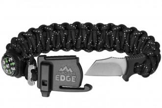 Outdoor Edge PARASPARK PSK-90C bracelet de survie multifonctions taille Large