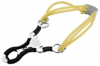 SL0408 Lance pierre aluminium et corde