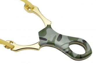 SL0608 Lance pierre Doré camouflage