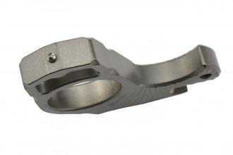 MaxKnives TIKNU3 Impact tool en Titane naturel avec brise-vitre
