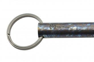 Maxknives Tube impact tool 100% titane finition anodisation crazy