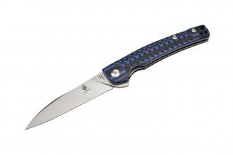 Kizer V3457N2 Splinter couteau lame acier N690 et manche en G10