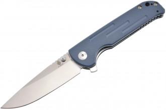 Kizer V4543N1 Justice - Lame acier N690 manche G10 bleu